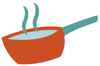 Product details - Cheeky Chickpea - saucepan